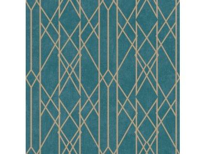 Papírová tapeta Rasch 215137, kolekce Sansa, 0,53 x 10,05 m