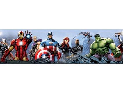 AG Design Samolepicí bordura Avengers, 0,10 x 5 m (srpen21)