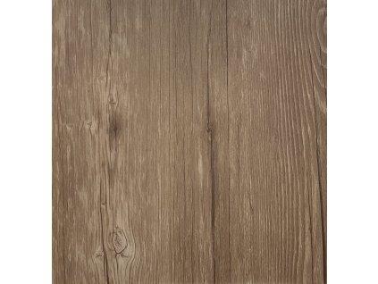 Samolepicí podlahové čtverce dřevo rustik hnědé DF0021