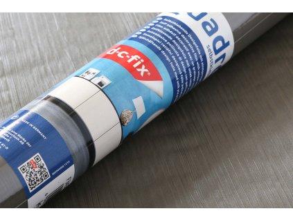 Samolepicí fólie d-c-fix Quadro 343-8304, tmavě šedé dřevo extra, 67,5 cm x 1,5 m