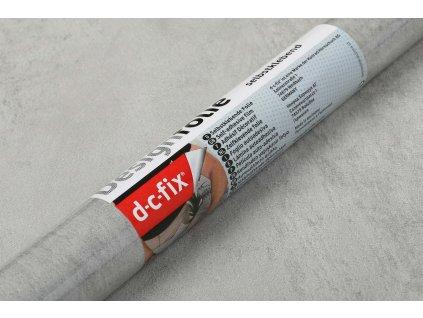 Samolepicí fólie d-c-fix beton - stěrka šedá
