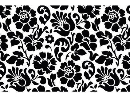 Samolepicí fólie d-c-fix baroko černé 45 cm x 2 m
