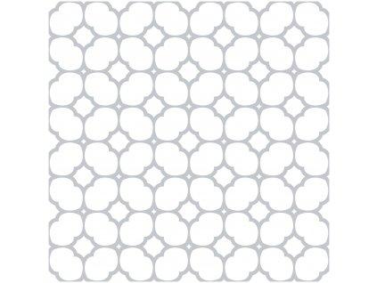 Samolepicí podlahové čtverce Bloomy Grid 2745060