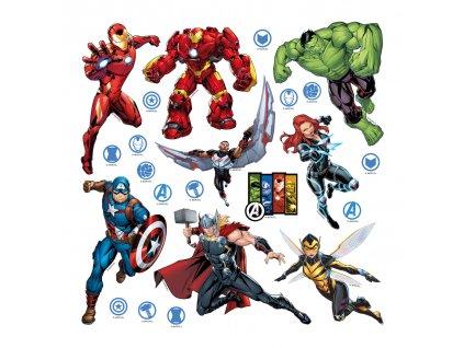 AG Design Samolepicí dekorace Avengers 42,5 x 65 cm (srpen21)