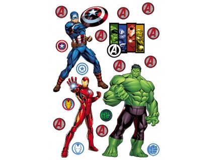 AG Design Samolepicí dekorace Spider-man 42,5 x 65 cm (srpen21)