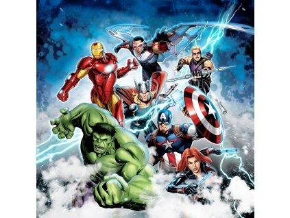 AG Design Dekortivní polštářek Avengers 40 x 40 cm (srpen21)