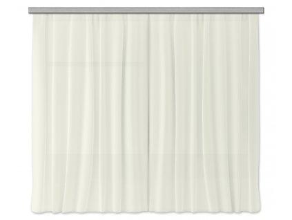 AG Design Textilní závěs béžový 180 x 160 cm (2ks), (srpen21)