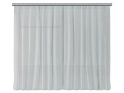 AG Design Textilní závěs šedý 180 x 160 cm (2ks), (srpen21)