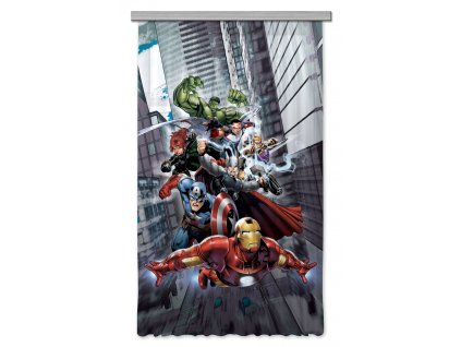 AG Design Textilní závěs Avengers 140 x 245 cm (srpen21)