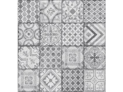 Obklad stěn Ceramics dlaždice šedobílé 270-0177, 67,5 cm