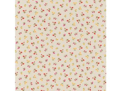 Vliesová tapeta na zeď Rasch 288246, Petite Fleur, 0,53 x 10,05 m