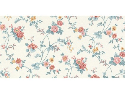 Vliesová tapeta na zeď Rasch 288307, Petite Fleur, 0,53 x 10,05 m