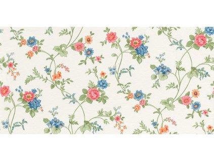 Vliesová tapeta na zeď Rasch 288321, Petite Fleur, 0,53 x 10,05 m