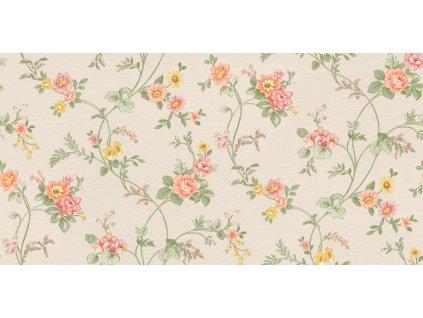 Vliesová tapeta na zeď Rasch 288345, Petite Fleur, 0,53 x 10,05 m