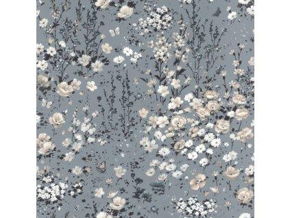 Vliesová tapeta na zeď Rasch 288369, Petite Fleur, 0,53 x 10,05 m