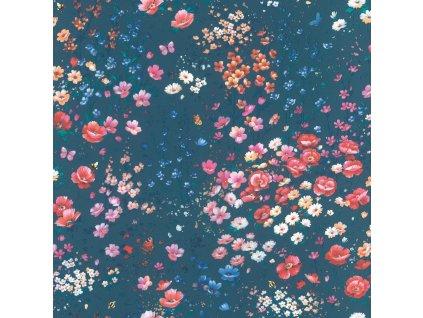 Vliesová tapeta na zeď Rasch 288376, Petite Fleur, 0,53 x 10,05 m
