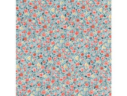 Vliesová tapeta na zeď Rasch 288383, Petite Fleur, 0,53 x 10,05 m