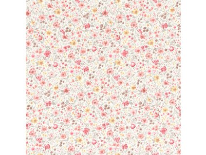 Vliesová tapeta na zeď Rasch 288406, Petite Fleur, 0,53 x 10,05 m