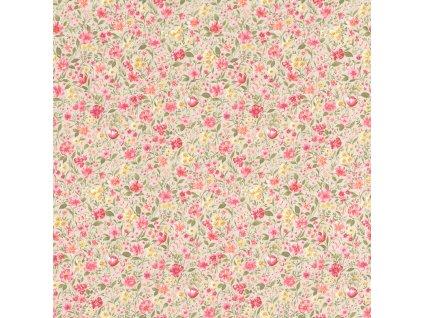 Vliesová tapeta na zeď Rasch 288413, Petite Fleur, 0,53 x 10,05 m