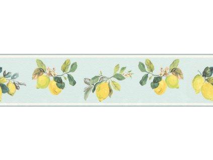 Samolepicí bordura na zeď Rasch 288550, Petite Fleur, 12,8 cm  x 5 m