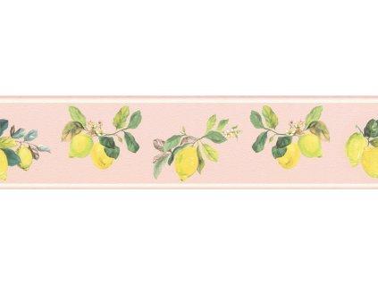 Samolepicí bordura na zeď Rasch 288567, Petite Fleur, 12,8 cm  x 5 m