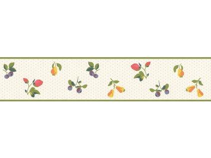 Samolepicí bordura na zeď Rasch 288581, Petite Fleur, 10,8 cm  x 5 m