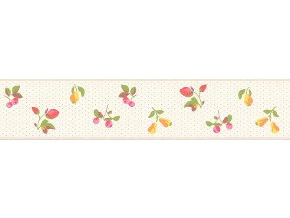 Samolepicí bordura na zeď Rasch 288598, Petite Fleur, 10,8 cm  x 5 m