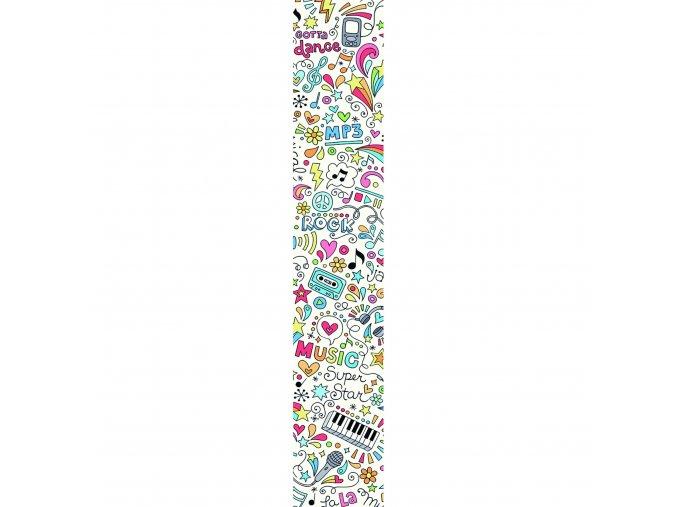 Papírový panel Caselio 67185652, kolekce ACCENT, materiál papír, styl moderní 50 x 280 cm