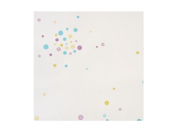 Papírová tapeta na zeď Caselio 61946071, kolekce GIRLS ONLY, materiál papír, styl moderní, dětský 0,53 x 10,05 m