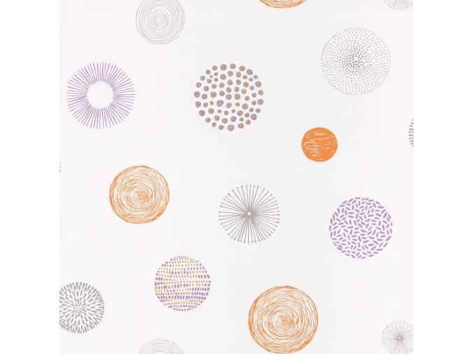 Papírová tapeta na zeď Caselio 69243030, kolekce PRETTY LILI, materiál papír, styl moderní, dětský 0,53 x 10,05 m