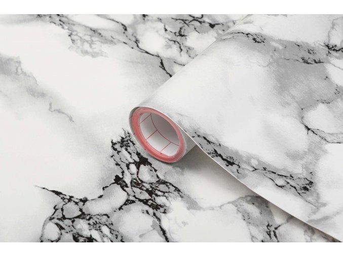 Samolepicí fólie d-c-fix mramor bílý 2002254, mramor, šíře 45 cm