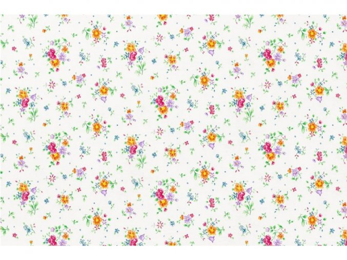 Samolepicí fólie d-c-fix kytičky 2002494, ozdobné vzory, šíře 45 cm