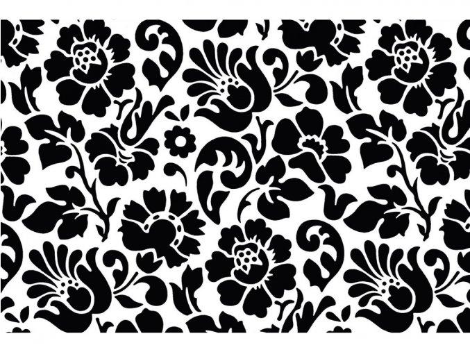 Samolepicí fólie d-c-fix baroko černá 2003098, ozdobné vzory, 0,45x15 m