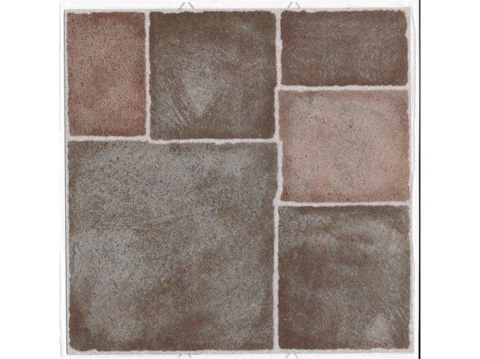 """Samolepicí podlahové čtverce """"terakota"""""""