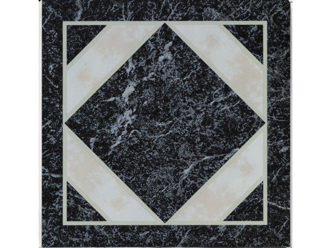 """Samolepicí podlahové čtverce """"mramor ornament 2"""""""