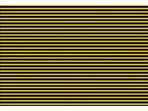Prostírání pruhy žluté