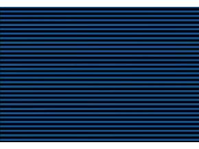 Prostírání pruhy modré