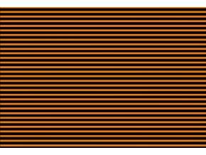 Prostírání pruhy oranž