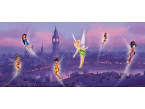 AG Design 1 dílná fototapeta FAIRIES IN LONDON FTDH 0606, 202 x 90 cm papír