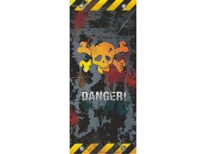 AG Design 1 dílná fototapeta DANGER FTV 0034, 90 x 202 cm papír