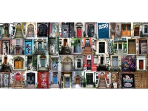 1dílná fototapeta DOORS, 202 x 90 cm