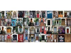 AG Design 1 dílná fototapeta DOORS FTNH 2740, 202 x 90 cm vlies