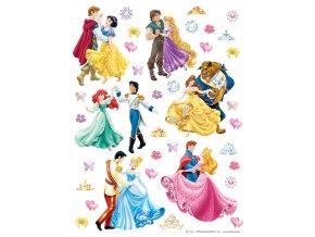 DKS1081 Samolepicí dekorace PRINCESS 30 x 30 cm