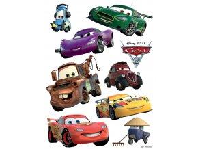 Samolepicí dekorace CARS 30 x 30 cm