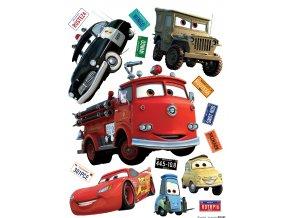 DK1794 Samolepicí dekorace WALL STICKER CARS 65 x 85 cm