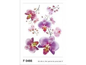 F0466 Samolepicí dekorace BLOSSOM PINK 65 x 85 cm
