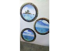 Samolepicí dekorace ILLUMINATOR 65 x 85 cm