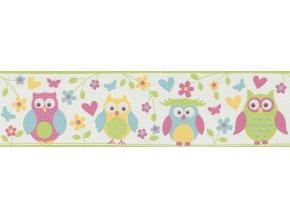 Vliesová bordura Rasch 459203, kolekce ALDORA, styl dětský , 16,7 x 500 cm