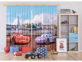 Textilní závěs CARS FCSXXL7025, 280 x 245 cm (2 ks), lehké zastínění