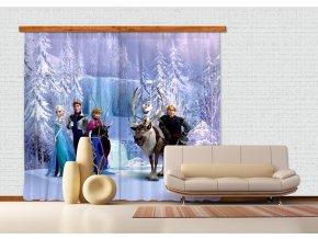 Textilní závěs FROZEN ALL FCPXXL6007, 280 x 245 cm (2 ks), úplné zastínění